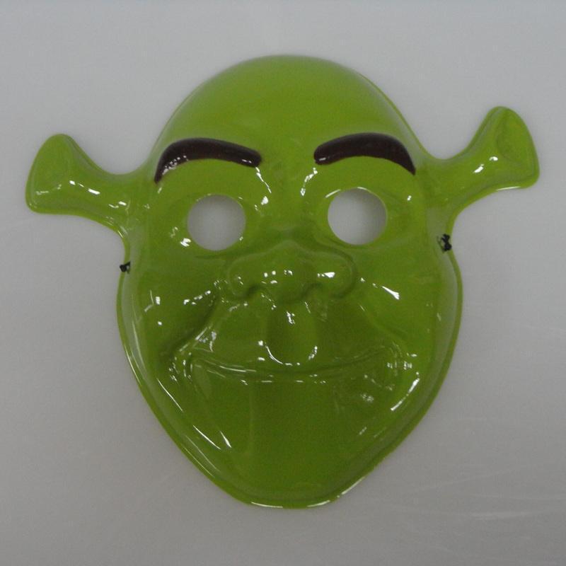 Movie theme mask Halloween cosplay children cartoon Shrek makeup mask performance mask PVC environmentally friendly materials