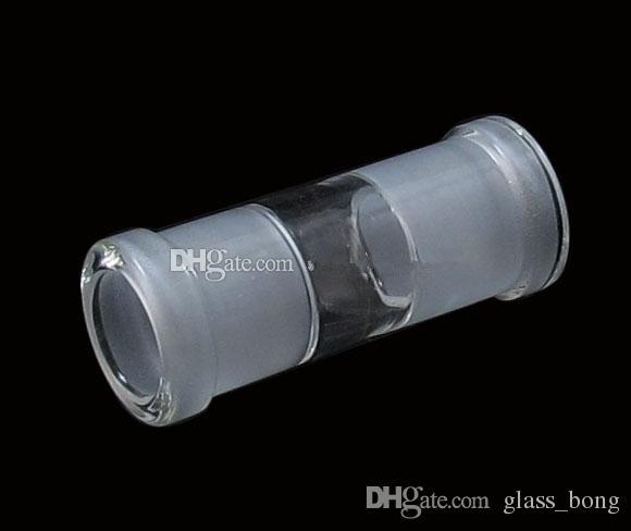 18.8mm kadın 18.8mm kadın cam adaptörü cam yağ kuleleri düz nargile boruları dab kuleleri sigara eki cam su bongs