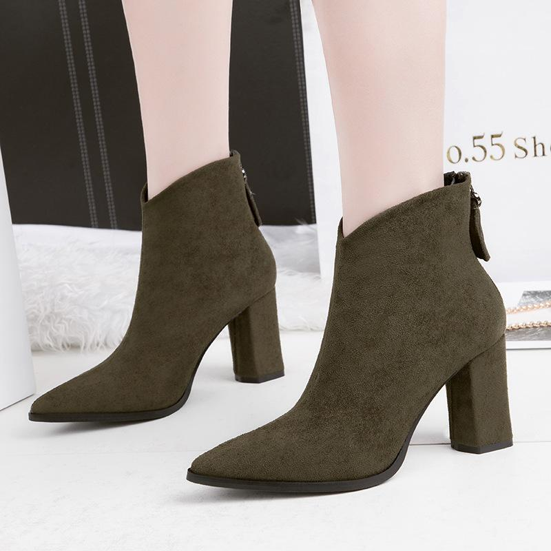 Sexy Lady Short Boot Pumps Dress Shoes