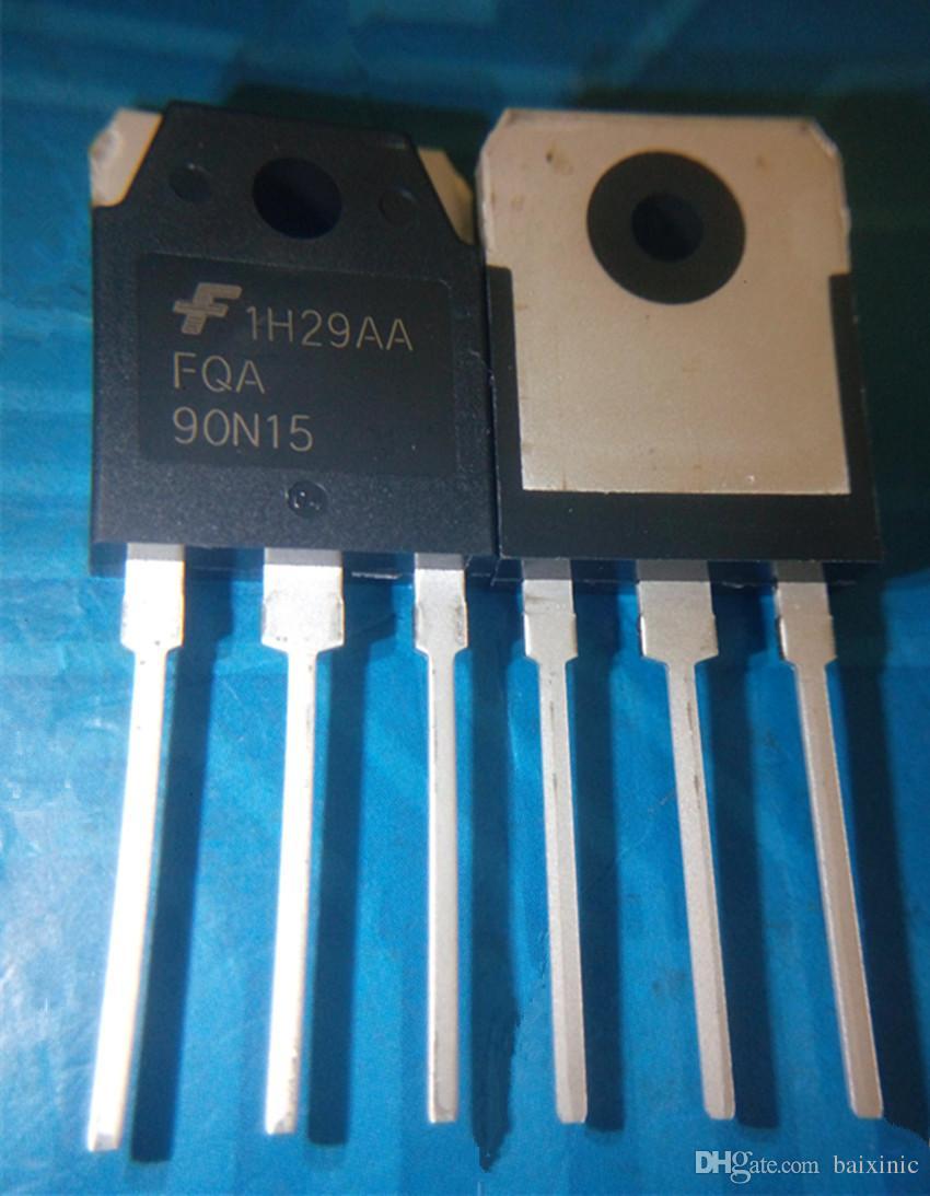 En gros 5 pcs / lot FQA90N FQA90N15 MOSFET N-CH 150 V 90A TO-3P en stock nouveau et original ic livraison gratuite