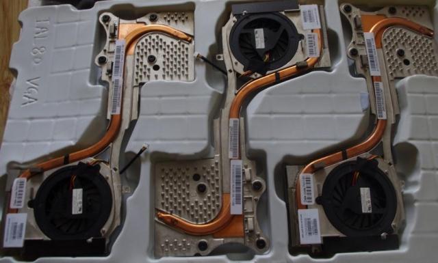 enfriador para HP 8710p 8710w disipador térmico de refrigeración con ventilador 450594-001 AT00X000200