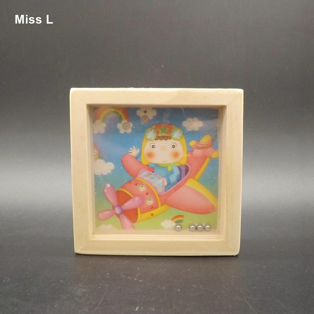 Patrón de Spaceman Juguete educativo divertido Juguete de madera Laberinto Puzzle Juego de equilibrio Regalo Niño Niño Mente Juguete