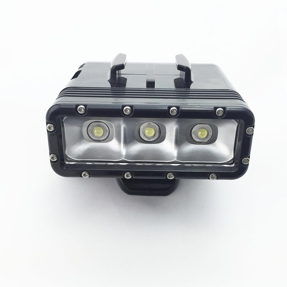 GoPro Diving flash Light Spot lamp Underwater Waterproof LED Flash Video Light For GoPro Hero 54Session SJCAM Xiaomi Yi 2 4K (5)