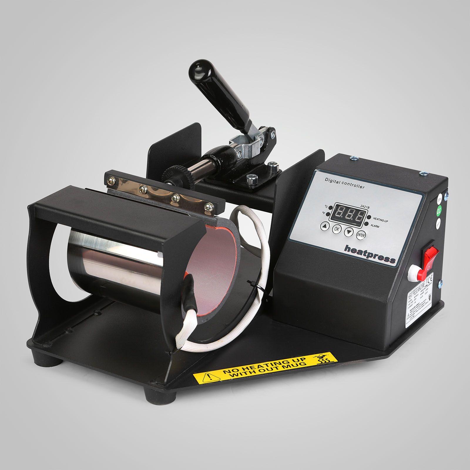 2in1 القدح كأس الحرارة الصحافة نقل الرقمية فنجان القهوة اتيه القدح الحرارة آلة الطباعة التسامي الصلب الإطار