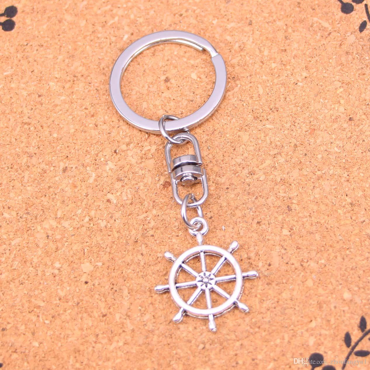 Ankunft Neuheit Souvenir Metall Ruderhelm Schlüsselanhänger Kreative Geschenke Apple Keychain Schlüsselanhänger Schmuckstück Autoschlüssel Ring