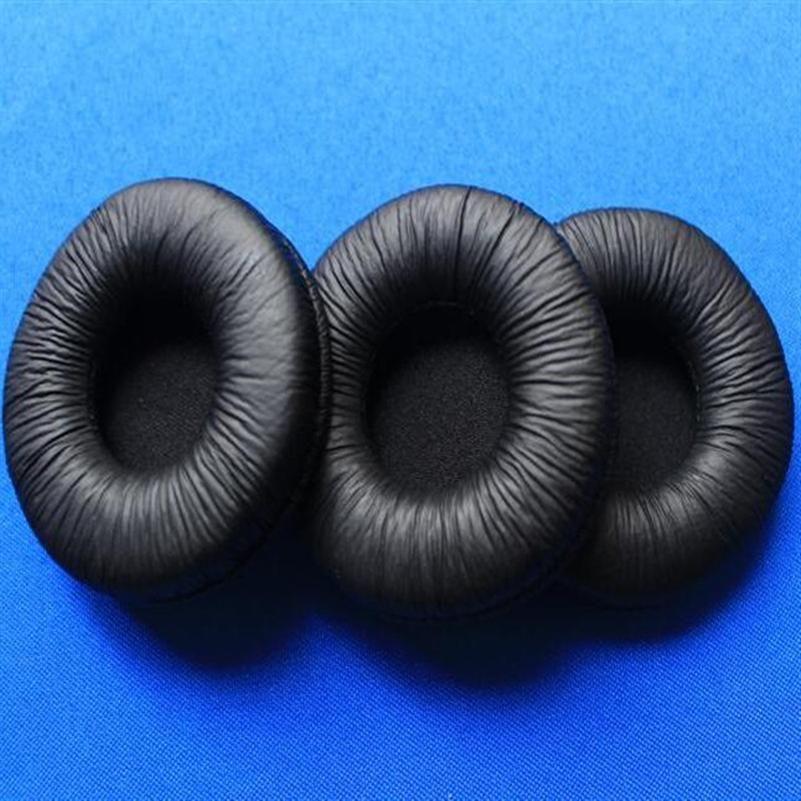 100 пак замена 55мм кожзаменителя уха колодки подушечки гарнитура амбушюры duarable вкладыши губка покрытие 5.5cm