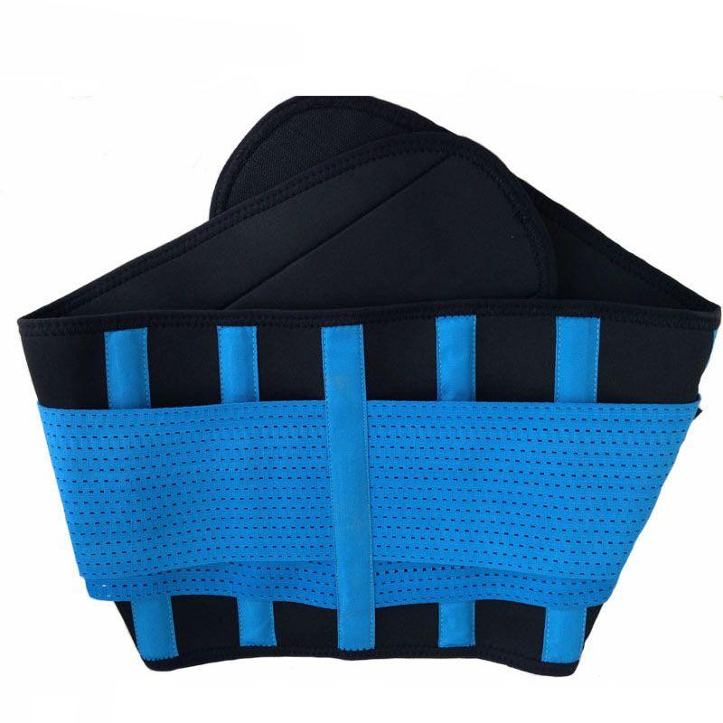 Toptan-Sıcak satış! Sırt ağrısı için neopren bel kemeri çift çekme bel desteği kemer 2016 Egzersiz Ayarlanabilir Geri Lomber Destek