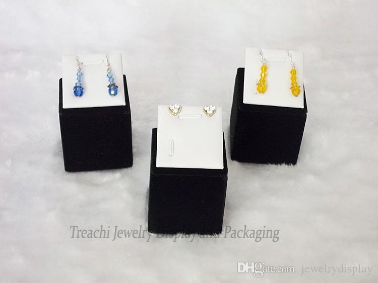 Envío libre precio a granel exhibición de la joyería pendiente al por mayor Studs pendientes Holder Show Quality Jewelry Tower 5 unids / set