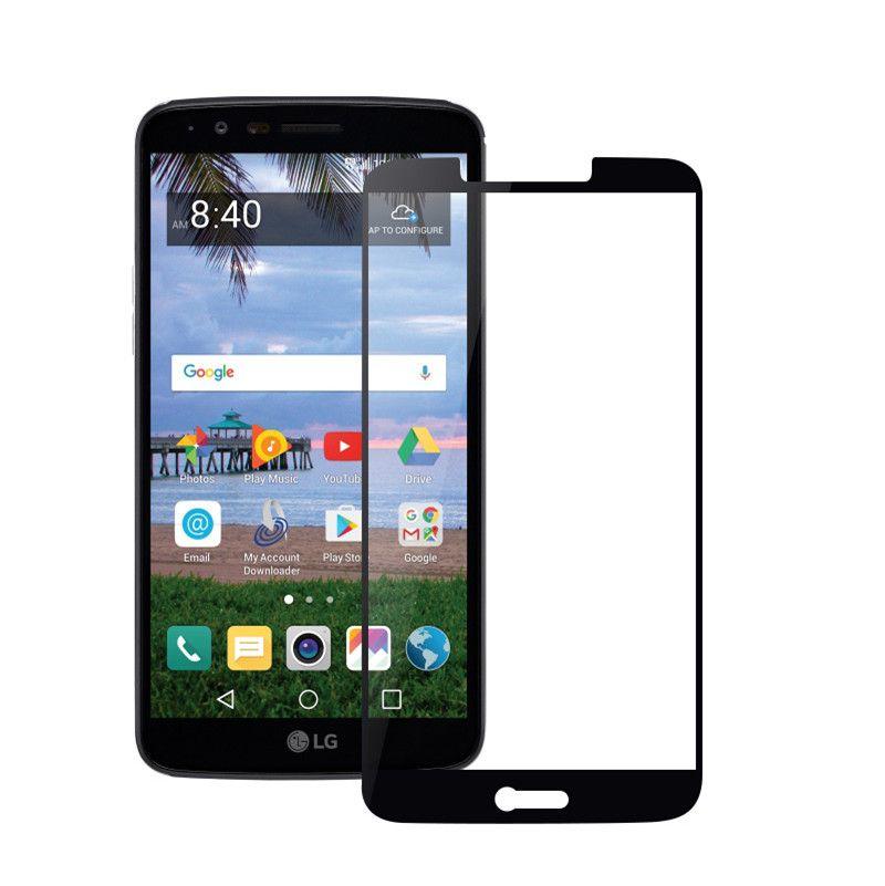 3D полное покрытие закаленное стекло протектор экрана для ZTE Blade Z Max Z982 Metropcs Moto E4 Avid 4 MetroPCS с бумажной упаковкой