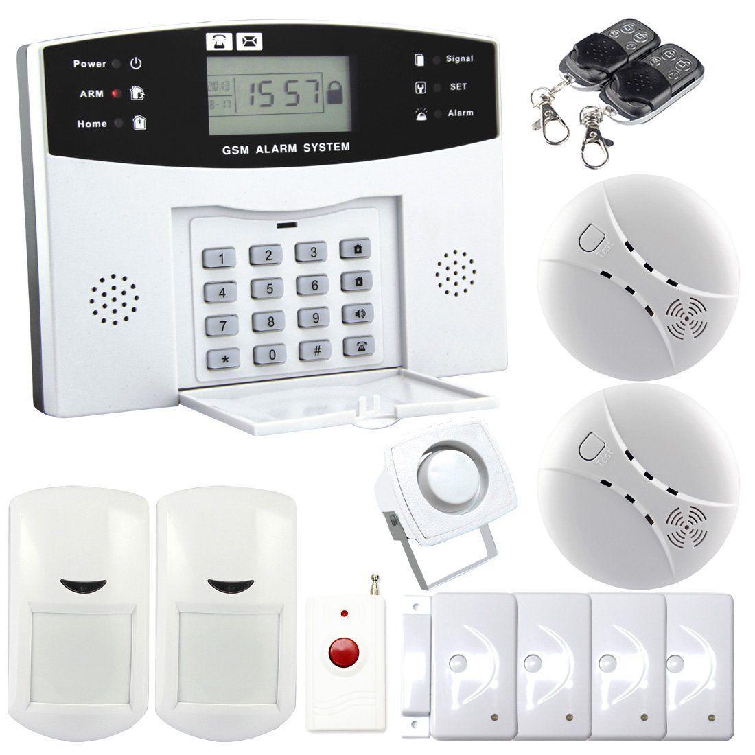 Safearmed® 고전적인 가정 안전 SMS 경보 가정 안전 GSM 경보망 무선 똑똑한 장비, 지적인 안전 경보망