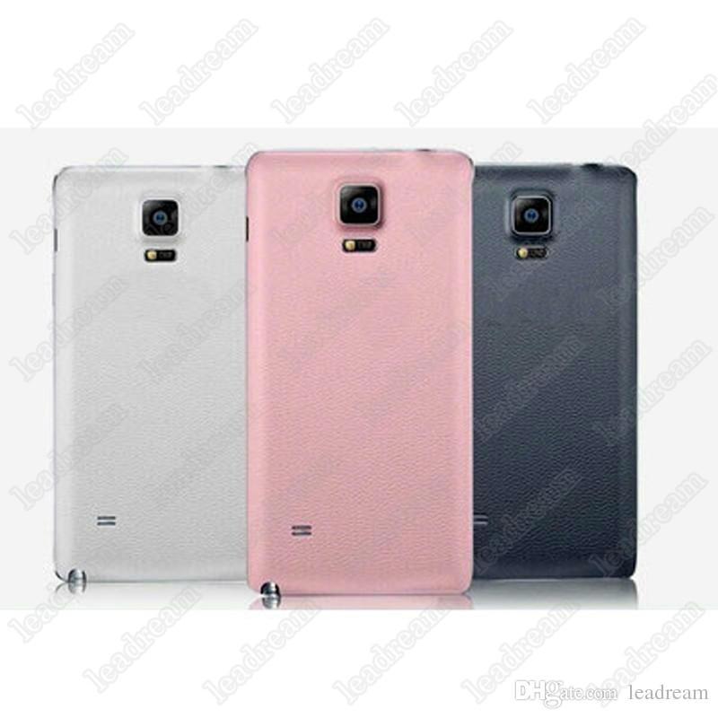 500pcs nouveau couvercle du logement de la batterie arrière porte de remplacement pour Samsung Galaxy Note 2 3 4 N7100 N9000 N9100 3 couleurs livraison DHL