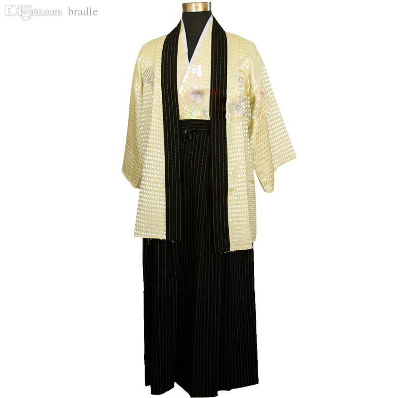 Wholesale-Japan Traditional samurai kimono Cosplay Costumes Japanese Clothes Women Men Cosplay naruto