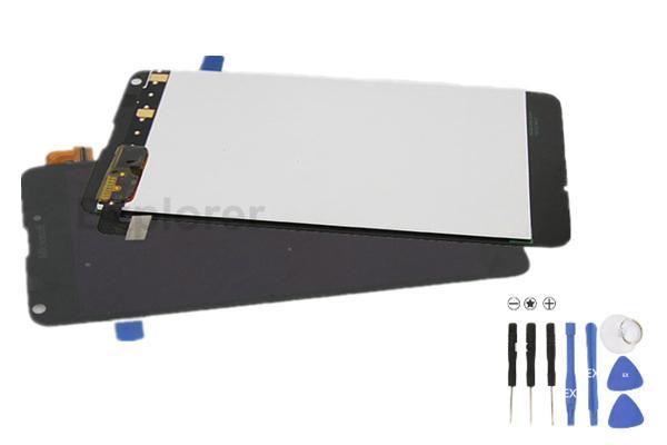 Test bestanden LCD-Anzeigen-Screen-Analog-Digital wandler für Microsoft für Nokia Lumia 640 vs N640 LCD Montage Ausgeglichenes Glas + Tools 1Pcs