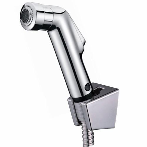copper chrome bathroom abs Toilet Bathroom Weel Hand held Diaper Spray Shower Set Shattaf Bidet Sprayer Jet Faucet Tap Douche kit BD530