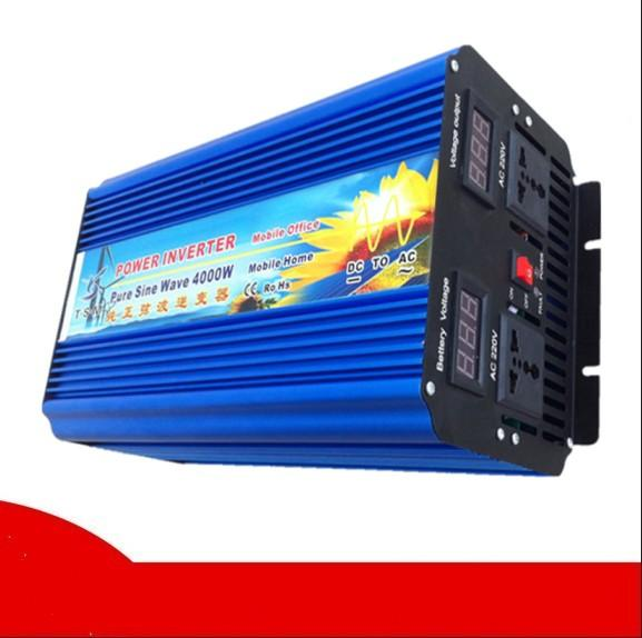 DHL FedEx UPS spedizione gratuita 8000W Peak inverter fotogalvaanilised Peak 8000w Power Inverter 4000W Pure Wave a onda sinusoidale Power Inverter 4000W