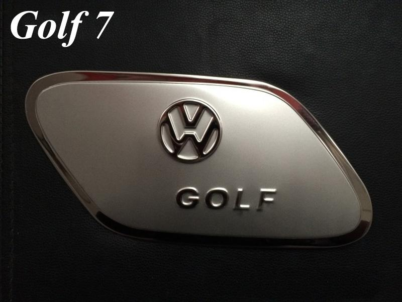 2014 Volkswagen Vw Golf 7 MK7 Stainless Steel Fuel/Gas/Oil Tank Cover Tank Cap Trim for Vw Golf 7 Car Styling Accessories