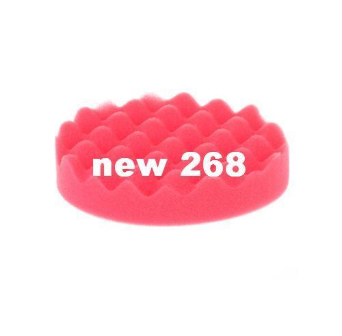 """40pcs 5 """"(125mm) Kit de tampon de polissage de gaufre pour le polisseur de voiture"""