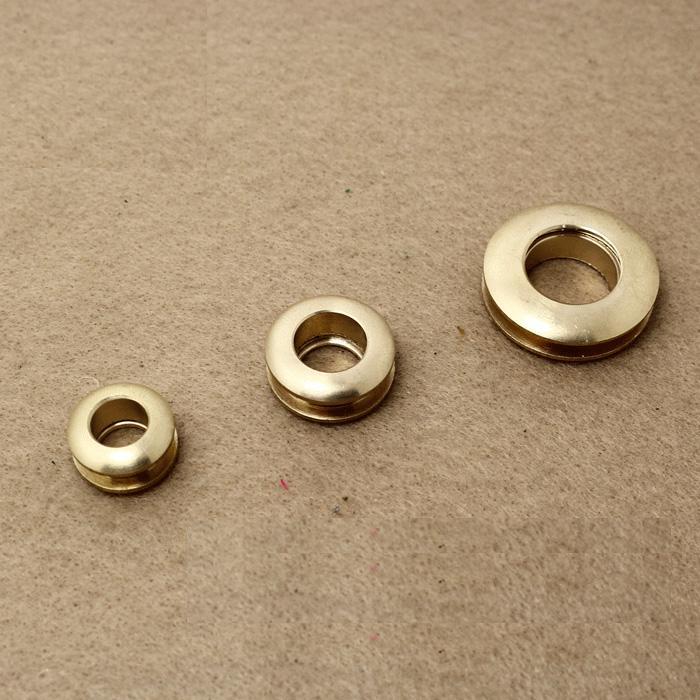 trasporto libero 10 pezzi in ottone foro del gas vite attacco filettato occhiello cintura fai da te parte hardware fatti a mano panno anello fibbia foro