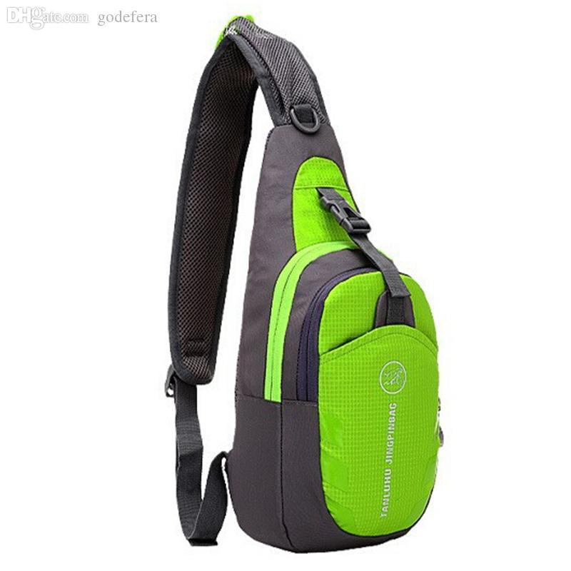 Großhandels-2016 unisex ourdoor Nylontasche feste kleine Reisetasche Multifunktions Radfahren Rucksack Handytasche Wandern Reißverschluss Brusttasche