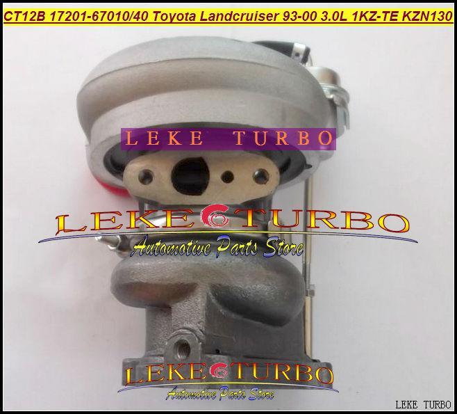 CT12B 17201-67010 17201-67040 TOYOTA LANDCRUISER 1KZ-TE 125HP HI-LUX KZN130 4 Runner 1993 3.0L D turbocharger (10)