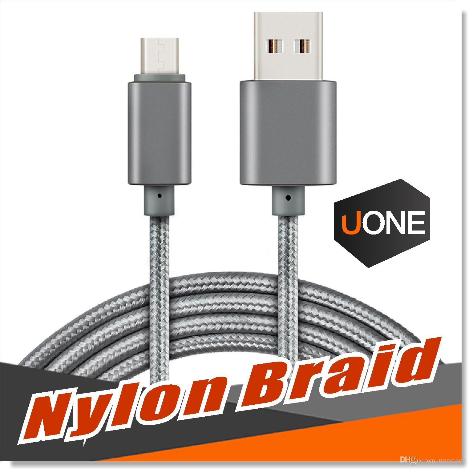 USB Type C Cable USB Type C to Type A Metal Housing Braided Durable Tinning High Speed Charger Micro USB Cable for Android Type-C Devices
