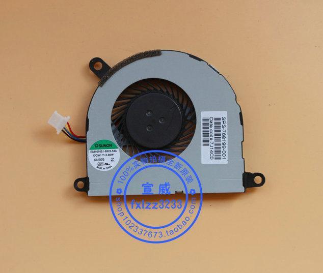HP Probook 430 G2 EG50050S1-B020-S9A 용 새 원본 노트북 냉각 팬 768199-001