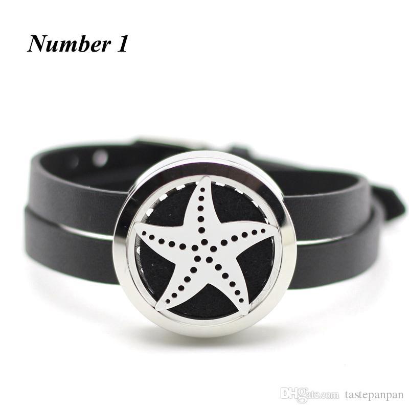 Nova chegada! 30mm de prata torção perfume pulseira medalhão 316l aço inoxidável difusor de óleo essencial pulseira com pulseira de couro