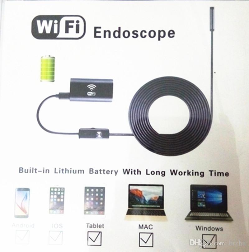 Endoscópio de 8mm WIFI para o andróide e o ISO 2MP 1200P