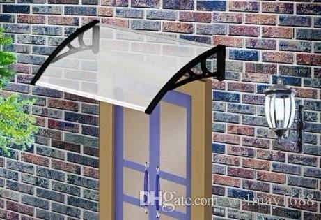 DS80100-P,80x100cm.Depth 80cm,Width 100cm.New Design House Window Awning,Black/White/Grey Plastic Awnings