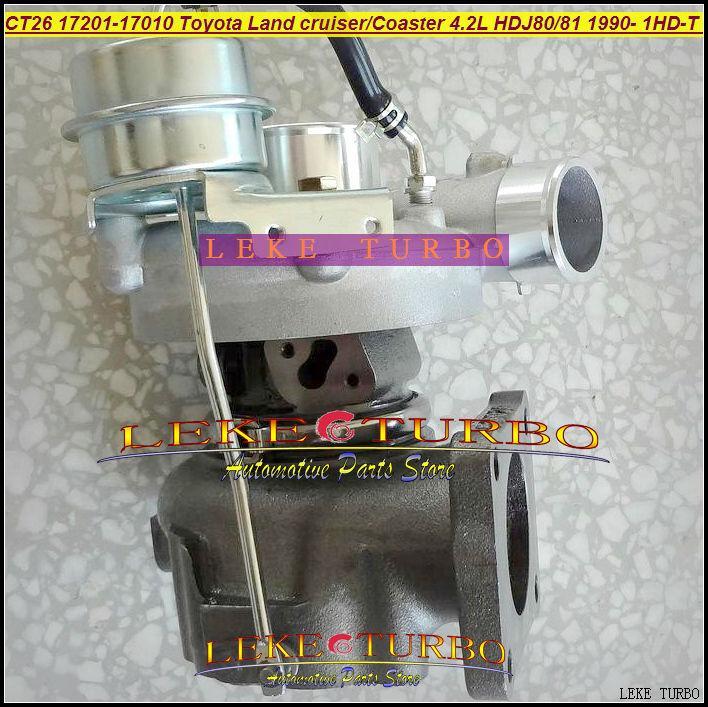 Wholesale CT26 17201-17010 Toyota Landcruiser TD Coaster 4.2LD HDJ80 HDJ81 1990-2001 160HP 1HDT 1HD-FT turbocharger (1)