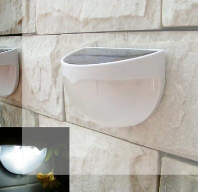 Économie de lampe hémisphérique à énergie solaire Efficace Lumineux 6LED Pratique Jardin Mur Chemin Chemin Lumière Hémisphérique Extérieur Lampe 4 PCS