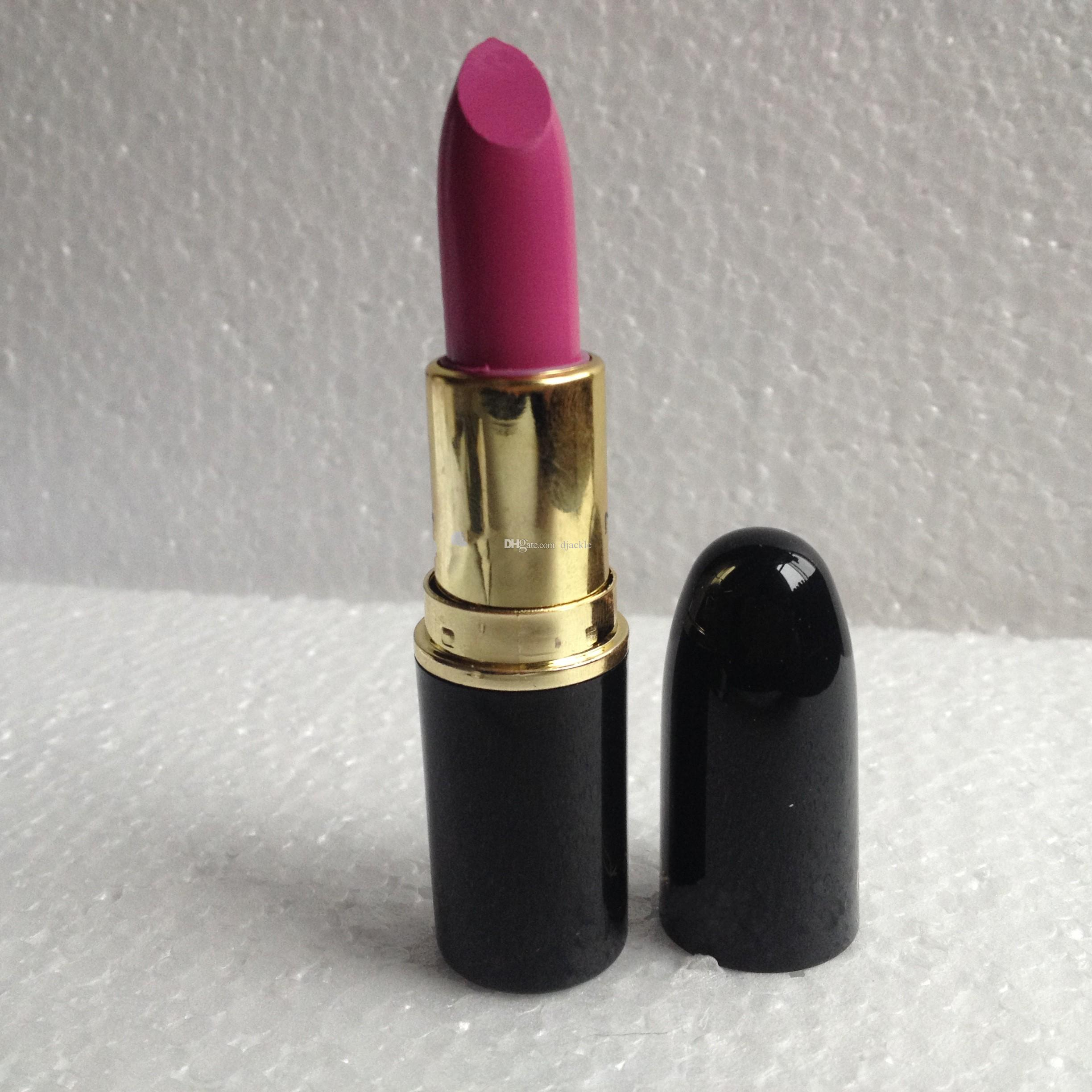 free shipping gold tube Makeup heroine Lipstick 3g A15 color