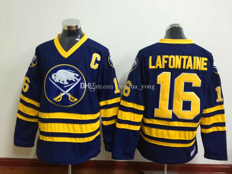 fbd5c133b61 ... pat lafontaine authentic white throwback jersey 3aa74 e9a5e; best price jerseys  1992 ccm vintage home navy blue 2017 hot sale newest buffalo sabres 15
