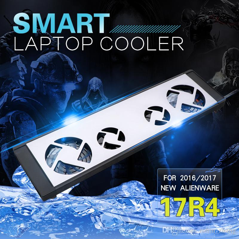 2020 Smart Gaming Laptop Cooler Cooling Pad For Alienware 17 R4