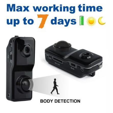 DV089 HD Mini Portable Motion Sensor Activated Infrared Pir Home Hidden  Security Camera Tiny Video Body