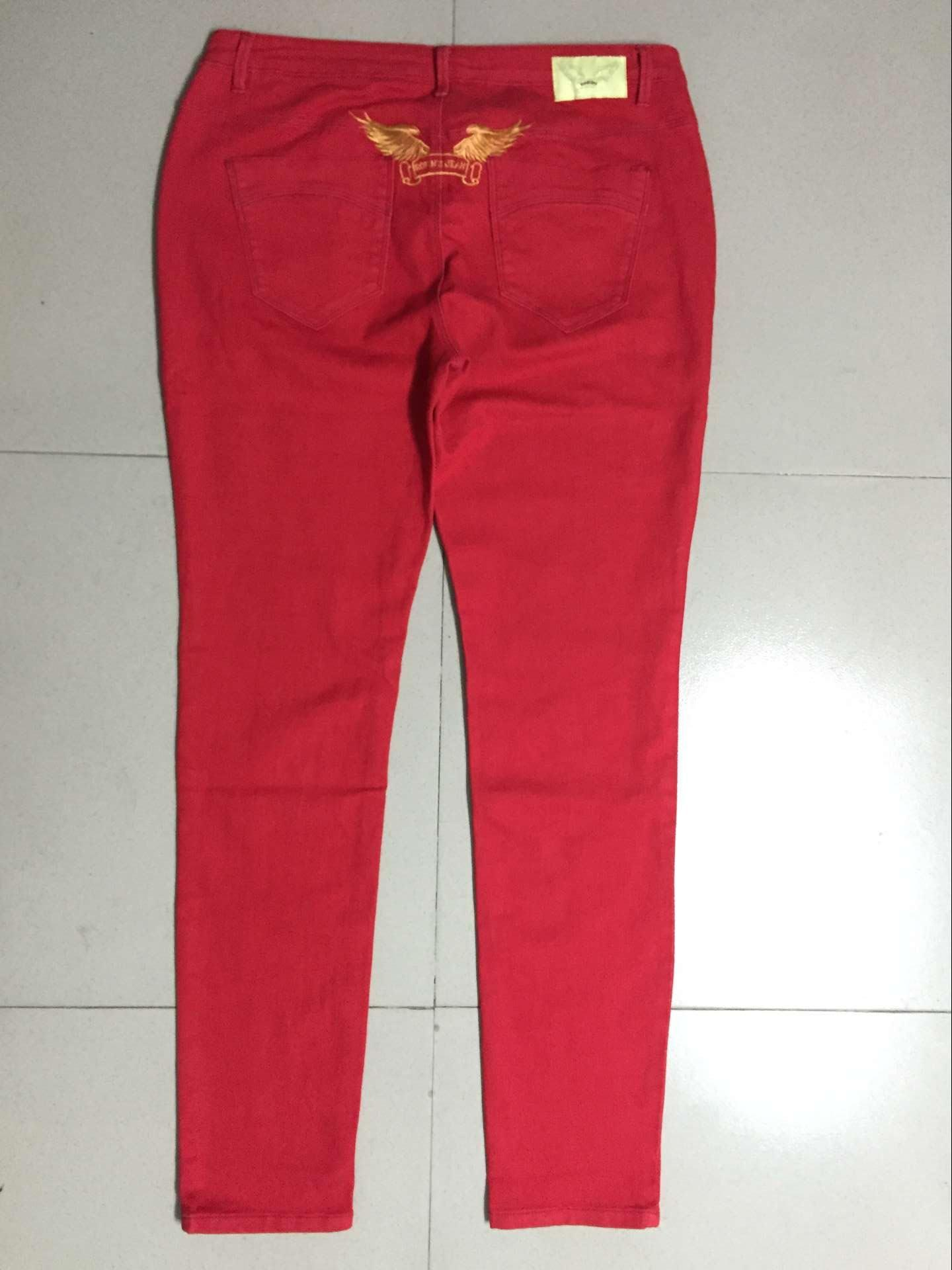 2017 Hot Sale Red White Black Fashion Women Robin Skinny Jeans ...