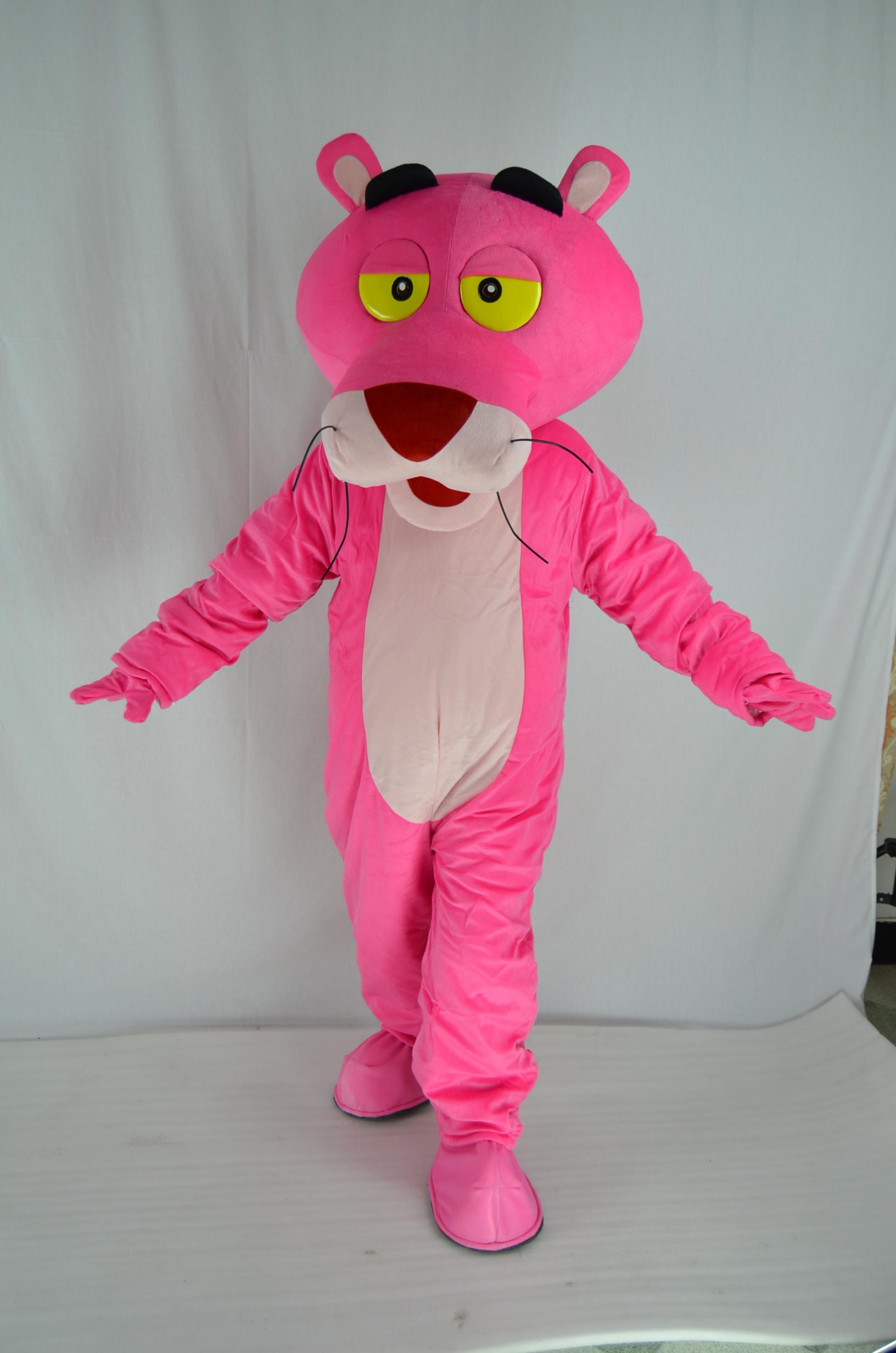 أدلى custume العلامة التجارية الجديدة الكبار الحجم النمر الوردي التميمة حلي النمر الوردي التميمة