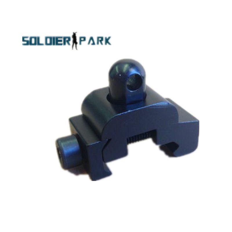 Caça tática Estilo Harris Bipod Sling Swivel Adapter com Weaver Picatinny Rail Base de montagem curta Base curta de montagem Rifle Gun order $ 18no track