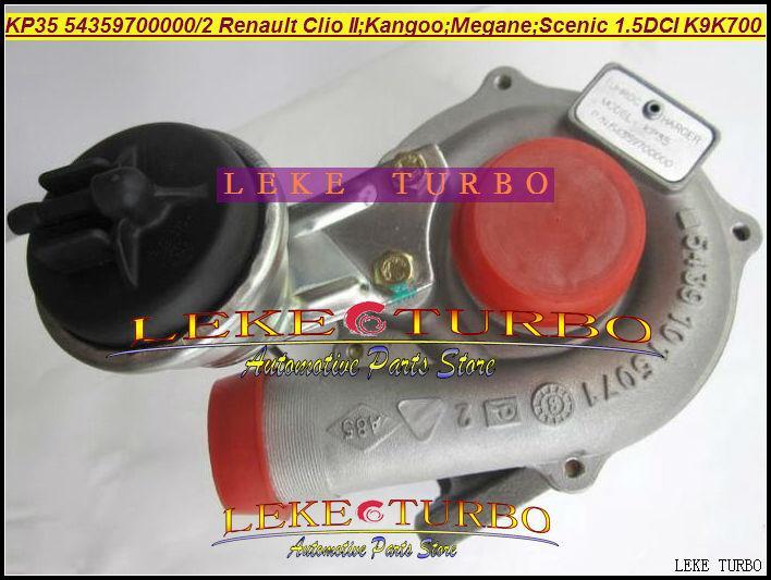 KP35 54359880000 54359880002 turbo for Renault Clio II Hatchback Kangoo Megane Scenic 1.5L DCI K9K700 K9K K9K710 TURBO