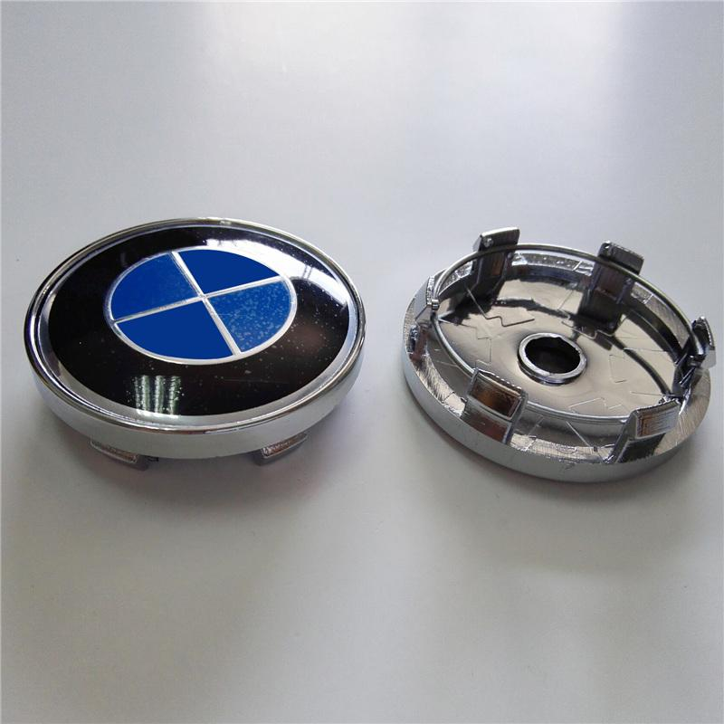 Brand New Wheel Covers for BMW 4pcs 60mm Wheel Hub Caps Center Covers with Foam Bag