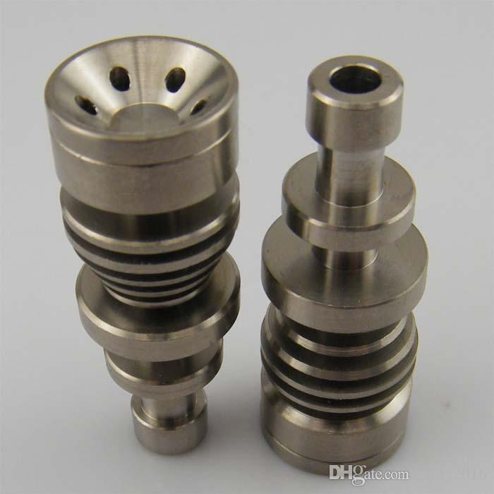 En stock ! Bon prix Nouveau 14 mm 18 mm Sans Domestique Nail Grade2 Sans Domestique Titane Nail Injection Directe, Expédition Rapide