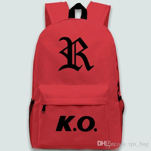 Mochila KO La mochila del rey de los luchadores Mochila clásica Mochila del juego Mochila escolar deportiva Mochila al aire libre