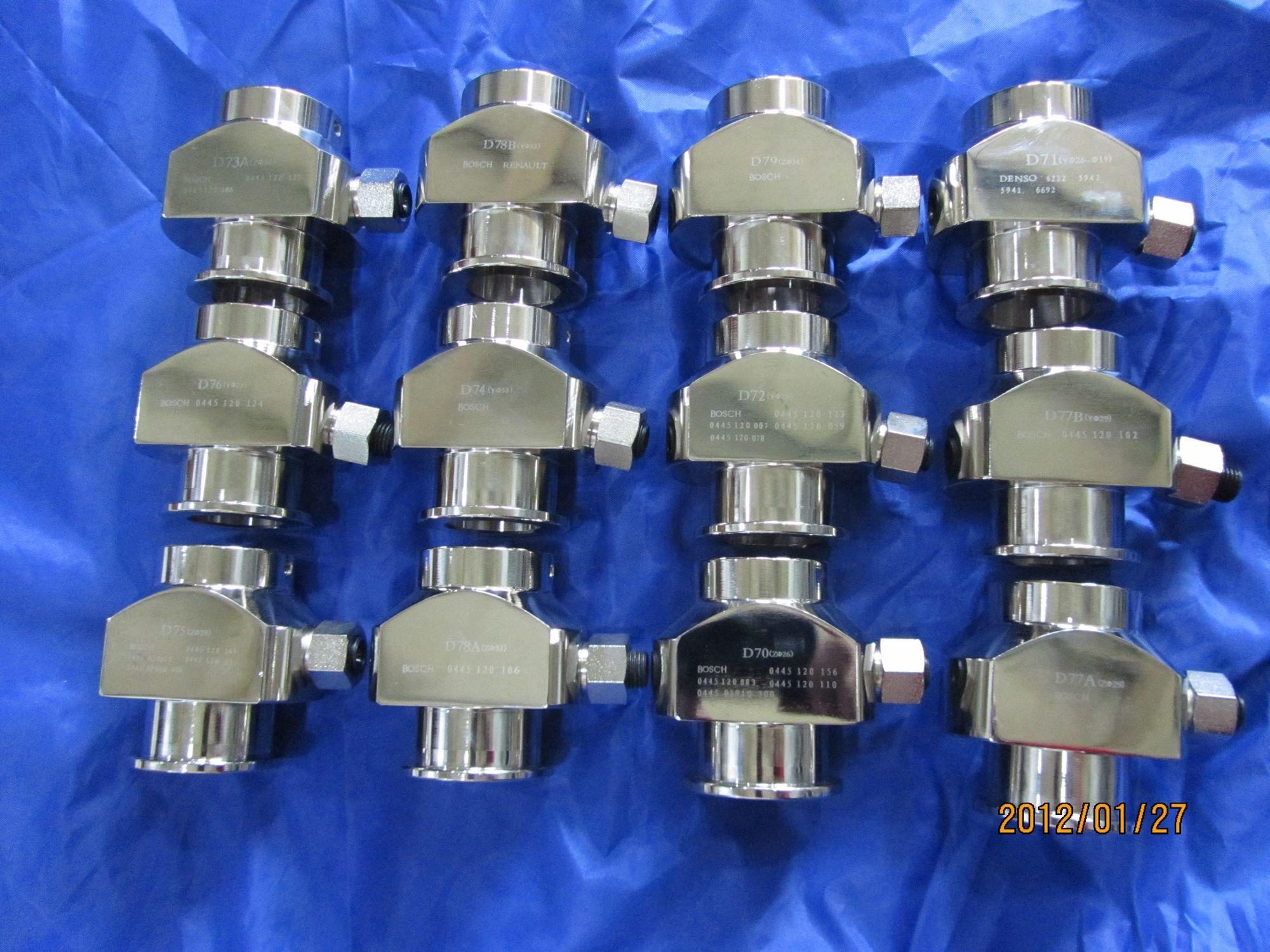 Common rail injector adaptors, tools diesel, injector adaptors,injector clamps,tools for electronic injection,tools for car repair
