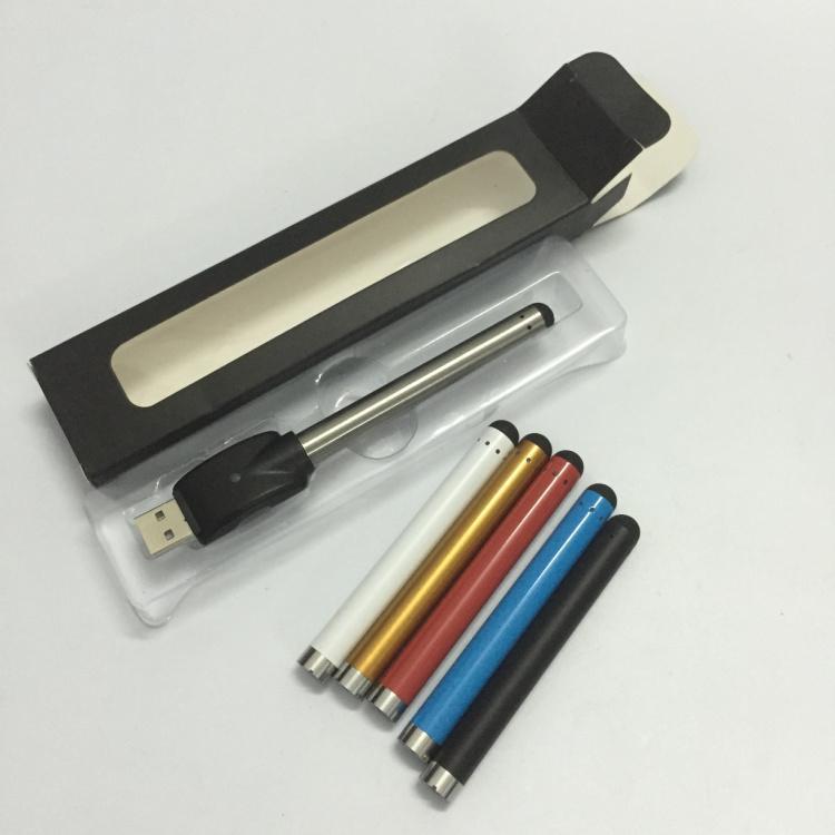 50pcs 블리스 터 패키지 O- 펜 CE3 vape 버드 터치 배터리 280mAh 왁 스 오일 카트리지 기화기에 대 한 USB 전자 cig 510 스레드