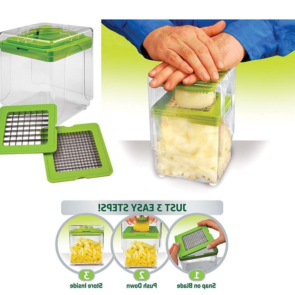 2018 New Vegetable Slicer Cutter Nicer Dicer Cutting Slicing Grater ...