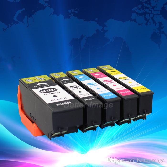 T410XL0 BK, T410XL1 BK, T410XL2 C, T410XL3 M, T410XL4 Y Juego de cartuchos de tinta compatibles con XP-530 XP-630 XP-830,3 juegos 1 lote