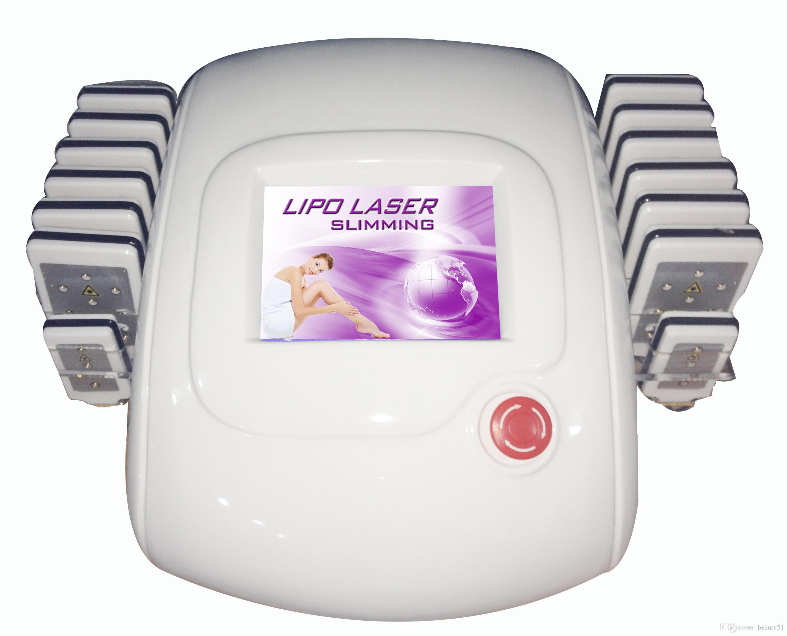 635-650nm Diode Lipo Laser Lipolaser Slimming Machine / Lipo Laser For Sale