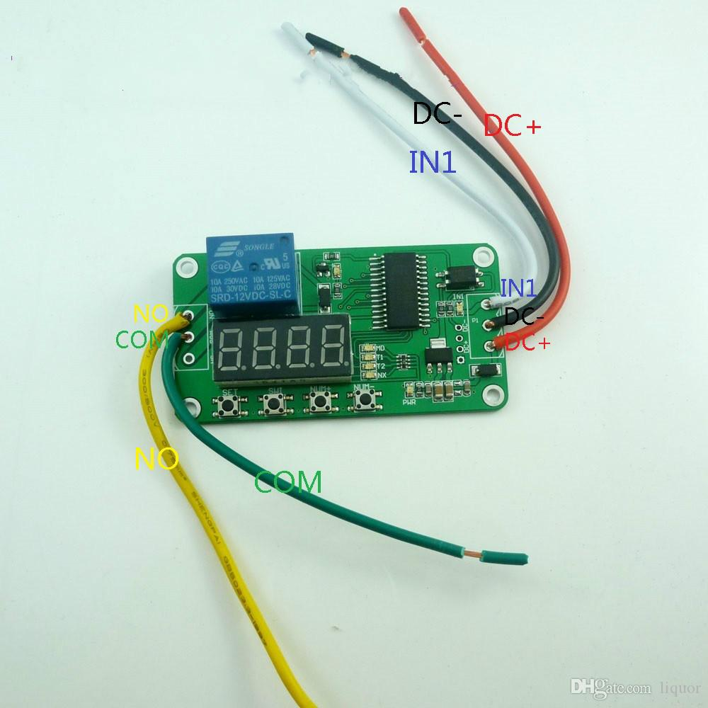 6a 12v Relay Solar Charge Control Circuit Schematic