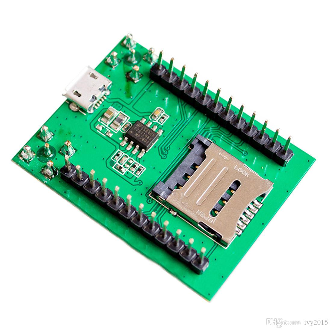 2019 Wholesale Price A7 GSM/GPRS Development Board A7 Adapter Quad Band SMS  Voice Data Transfer Antenna Module High Quality From Ivy2015, $11 05 |