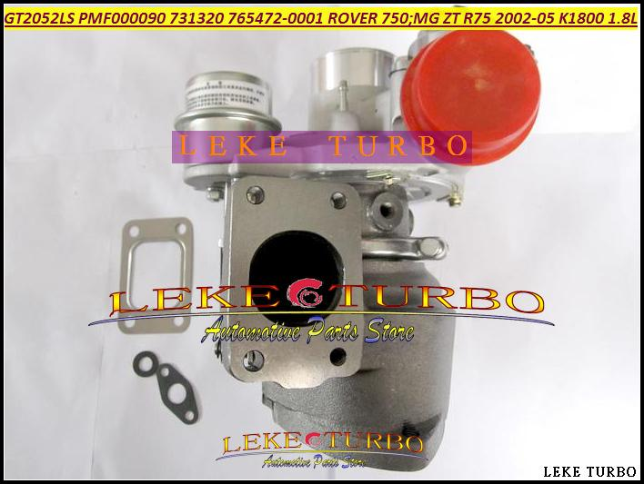 GT2052LS PMF000090 731320-5001S 765472-0001 Turbo Turbocharger For ROVER 75 2002 MG ZT R75 2002-05 K1800 18KAG 1.8L (6)